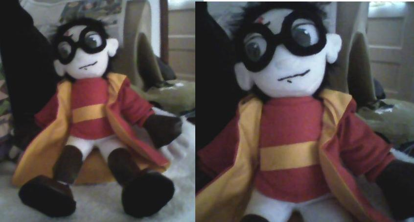 Quidditch Harry Plushie by BobrechaunProductions