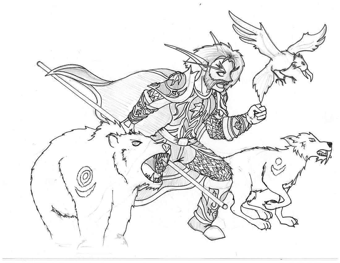 Cpase Night Elf Druid by Boss_Man7089