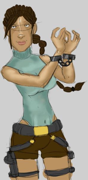 Lara Croft by Braign