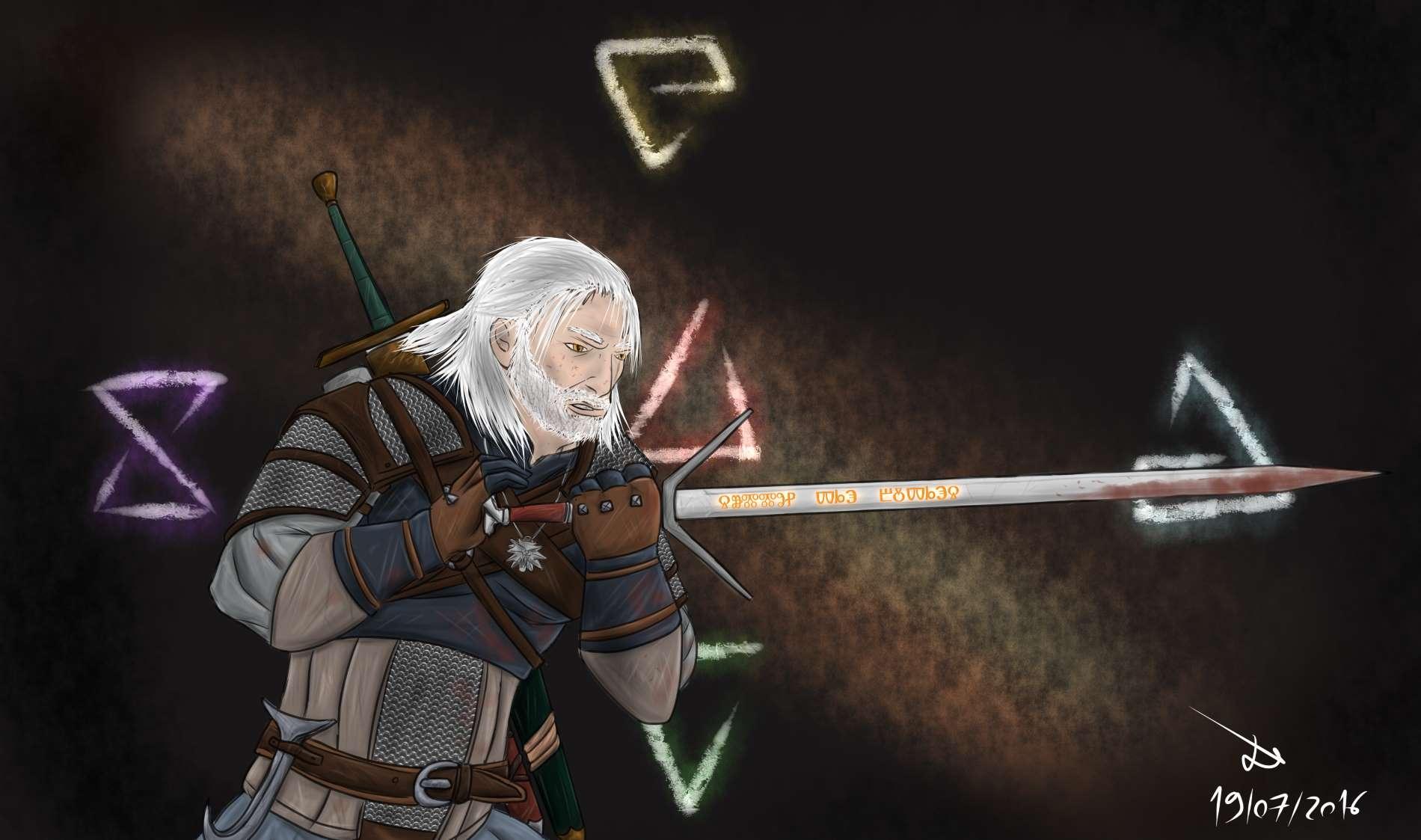 Geralt by BringDownTheSkyN7
