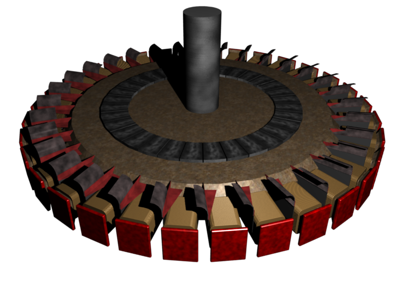 Salient Pole Rotor by Bruth