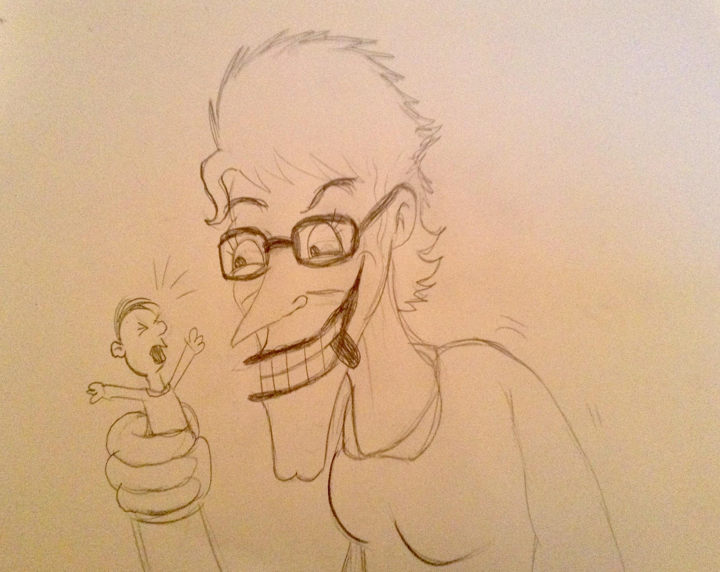 Request drawing from a friend by BtasJokerFan
