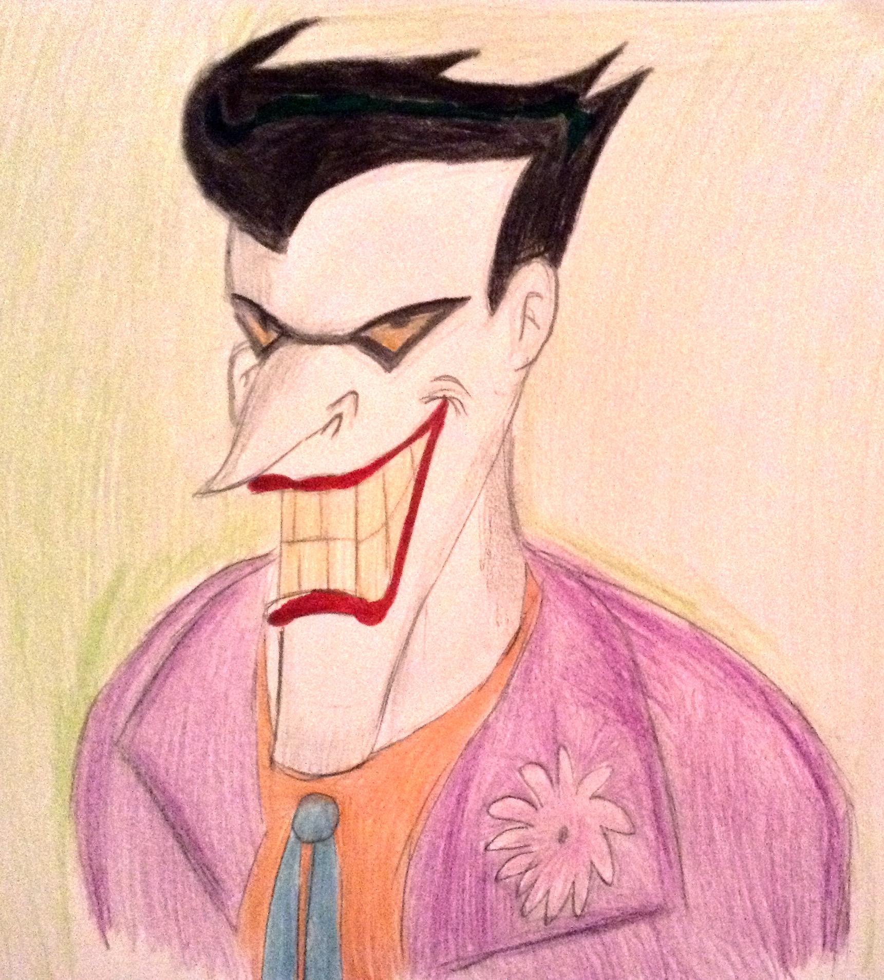 Batman animated series Joker by BtasJokerFan