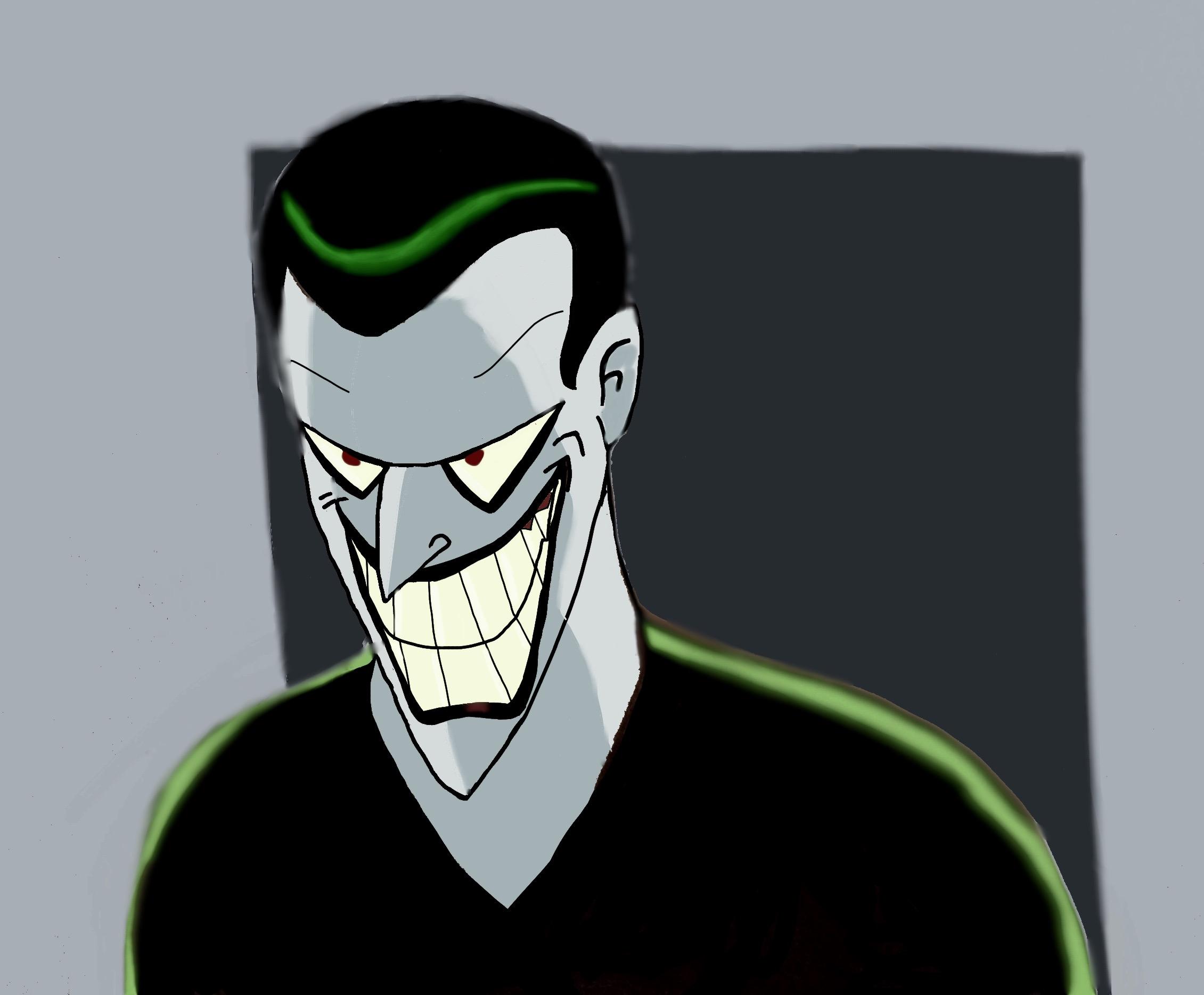 Batman beyond joker by BtasJokerFan