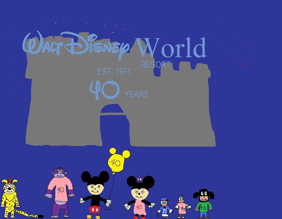 Walt Disney World Resort turns 40 by BuddyBoy600alt