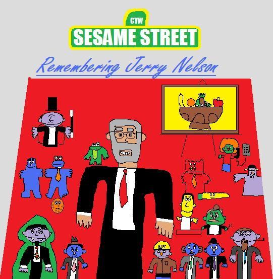 Sesame Street: Remembering Jerry Nelson by BuddyBoy600alt