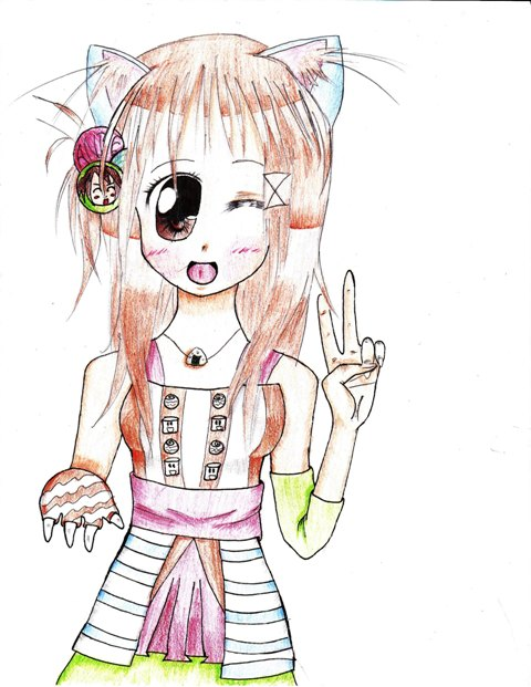 Kitty Ears and Tiger Paw by Bunny107