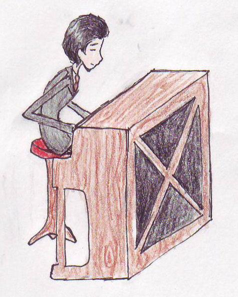 Victor + piano = love *req* by Burtonite42