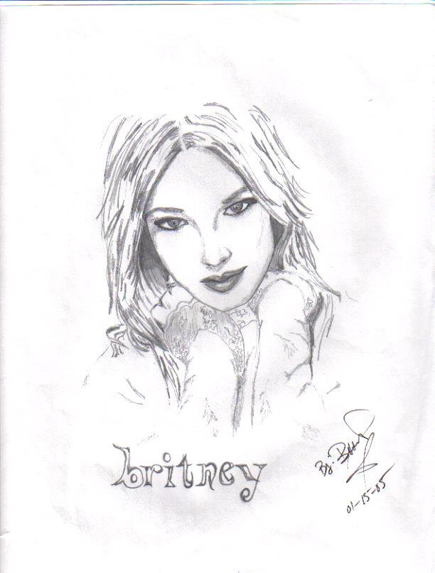 Britney Sprears by beginingartist