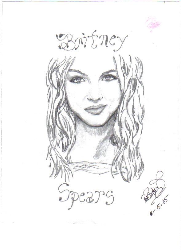 Britney Spears by beginingartist