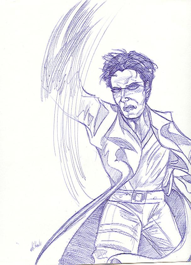 Neo sketch by benignmilitancy