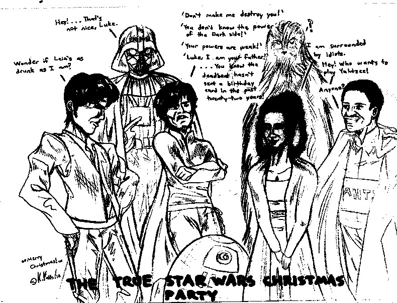 The True Star Wars Christmas Party by benignmilitancy