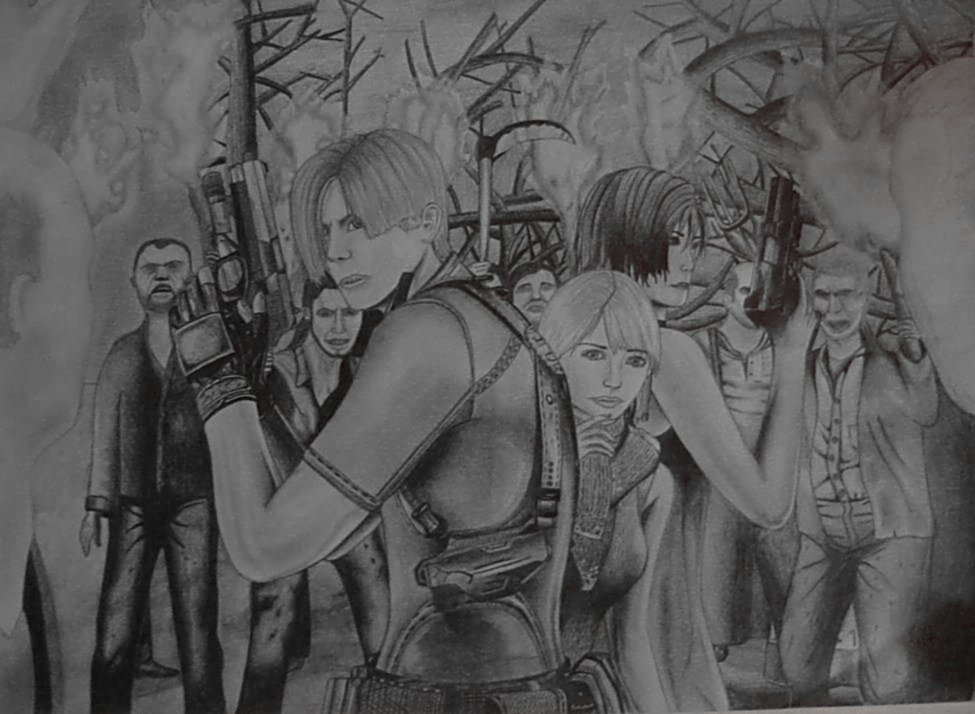 Resident evil 4 by bettydtb