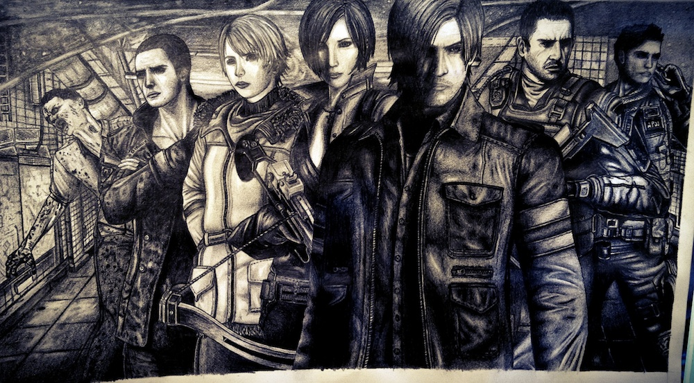 Resident Evil 6 by bettydtb