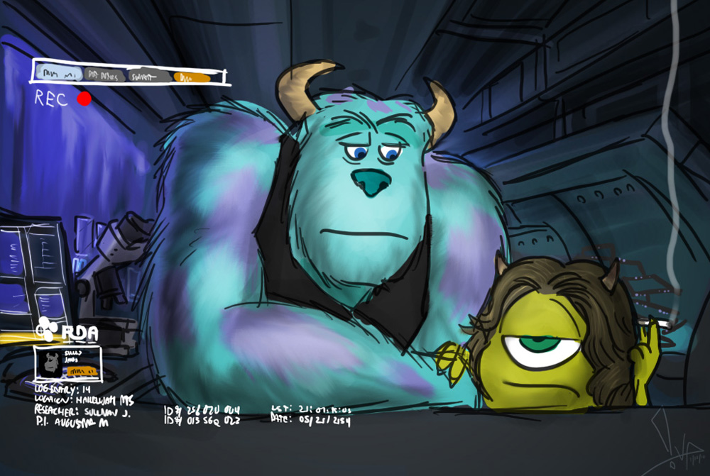 Wrong Sulley by bgn