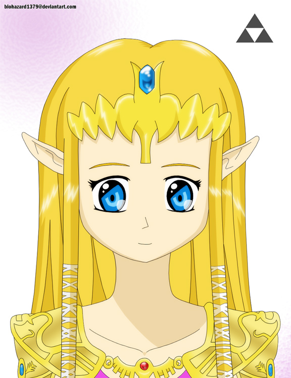 Princess Zelda by biohazard1379