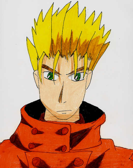 Vash, brother to Knives by blackbird1331