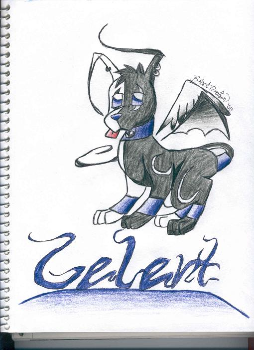 light/dark Gelert by blackdragon_518