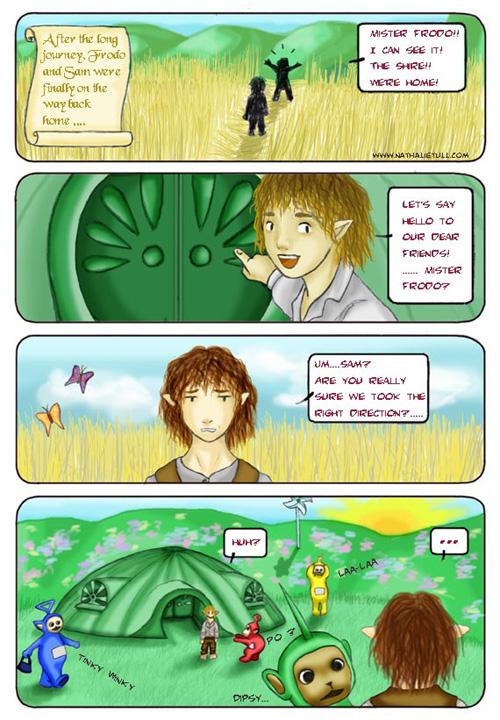 'Frodo & Sam - the way back home' by blackfauve