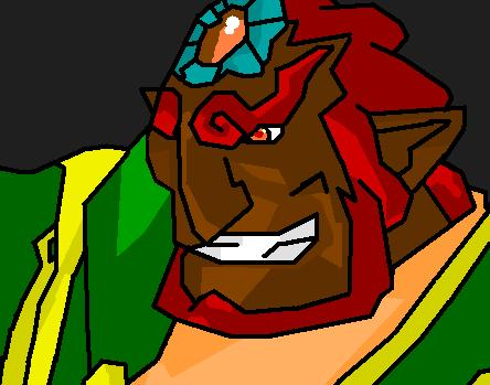 Ganondorf- ww by bladerwolfbane