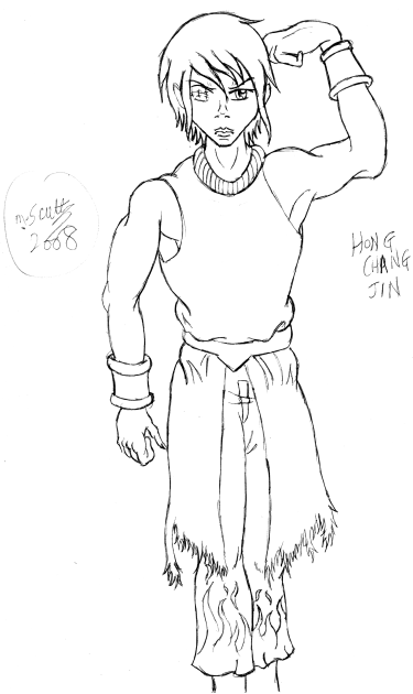 DOA OC- Hong Chang Jin by bladerwolfbane