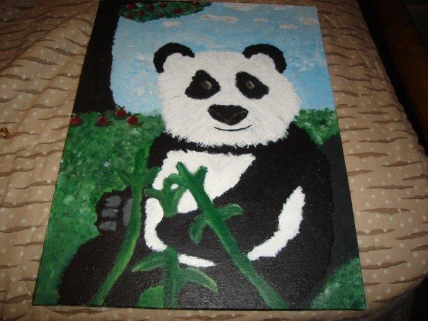 sexy panda by bloodblackrose