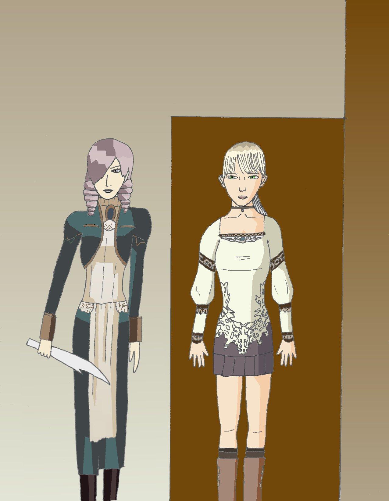 Fiona and Daniella- for CELICA--ishikawa by bluefairy421