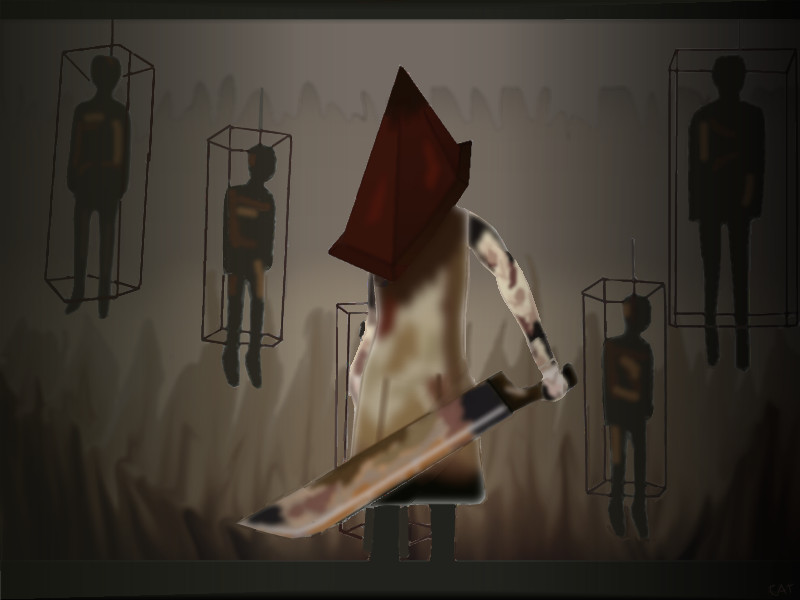 Pyramid Head rox! by bluefairy421