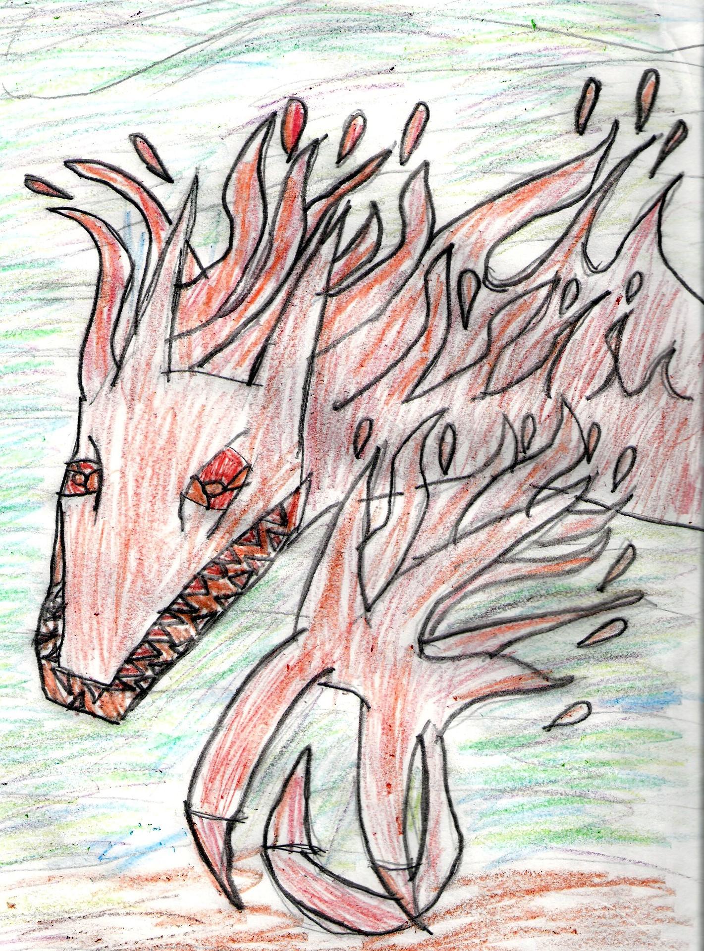 Fire pet by bluehawk395