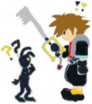 Colored Sora And Heartless by boondocksaint17