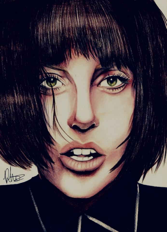 Gaga X GLAMOUR by bornthisjess