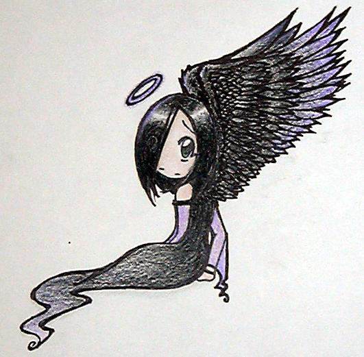 -Dark Angel-  *request/art trade* by brainfreezy2004