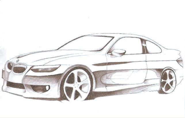 BMW car by bratzgirl