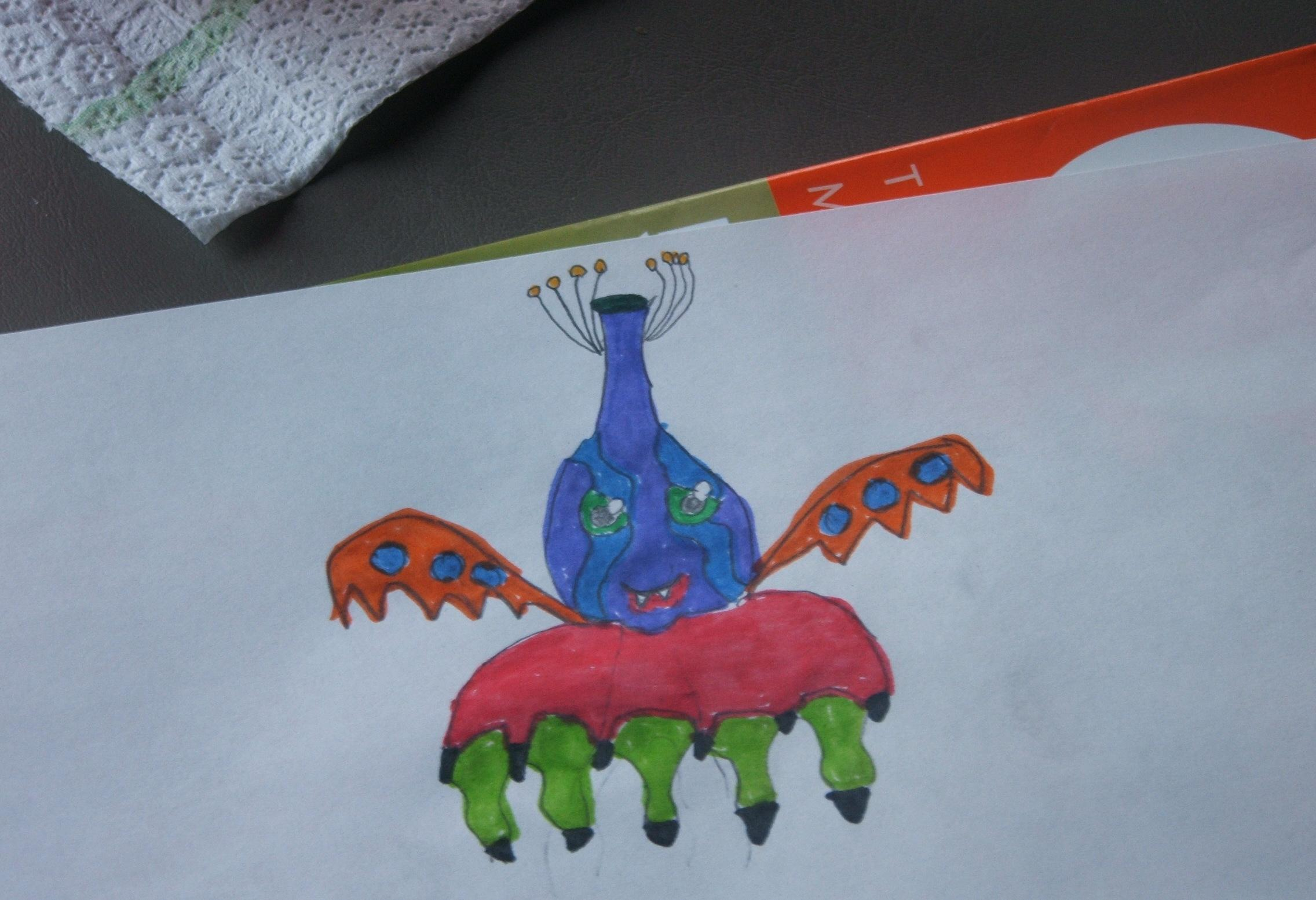Mutant Freak Crab Plant Thingy by brocollihater4