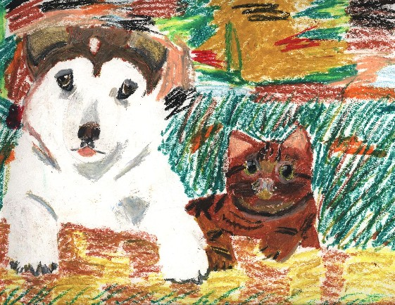 art class picture by brown_tabby