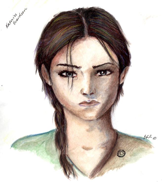 District 12 Girl by bufstk
