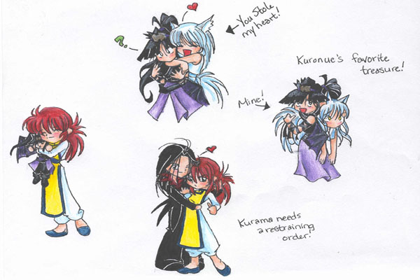 yu yu hakusho chibis by butterfly111585 - Fanart Central