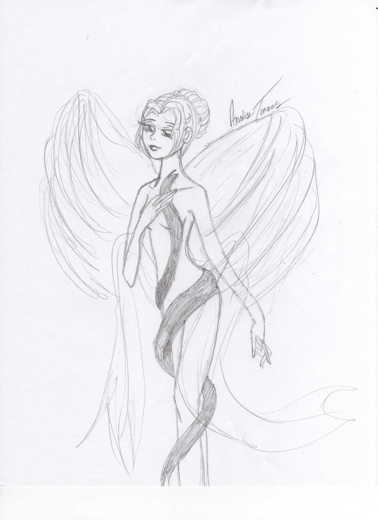 Angel Victoria by CBrideEmily