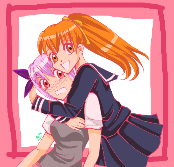 Me and My Sister by CELICA--ishikawa