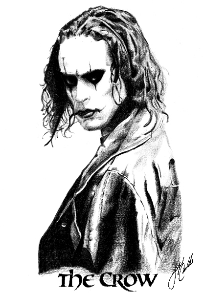 The Crow by CRaYoNBoY