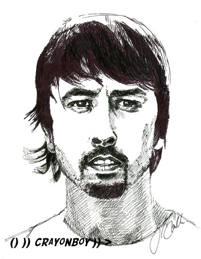 Dave Grohl by CRaYoNBoY