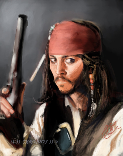 Captain Sparrow by CRaYoNBoY