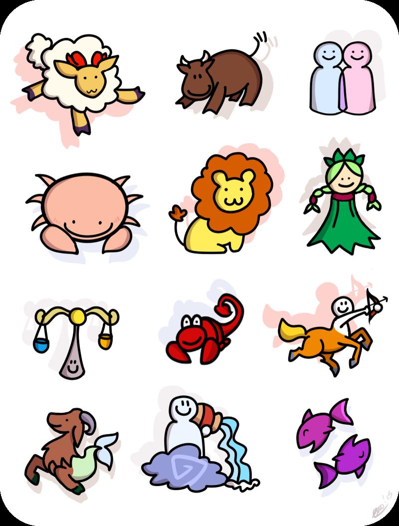Cuddly Zodiac by CRwixey