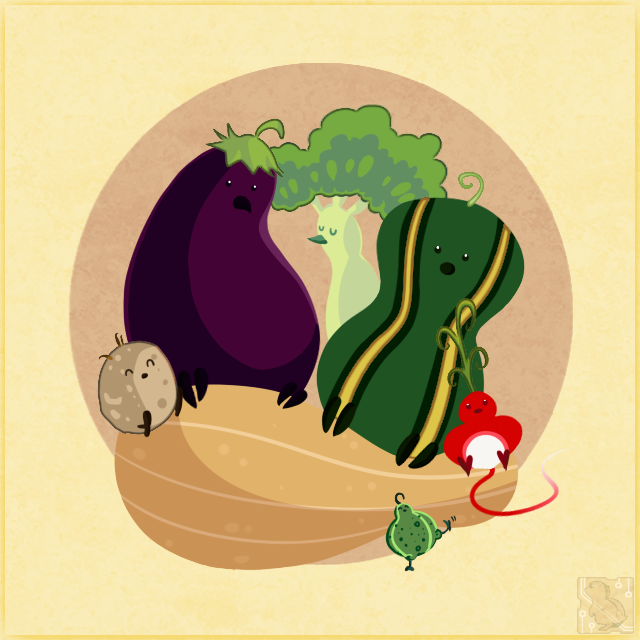 Magical Veggie Birds 2 by CRwixey
