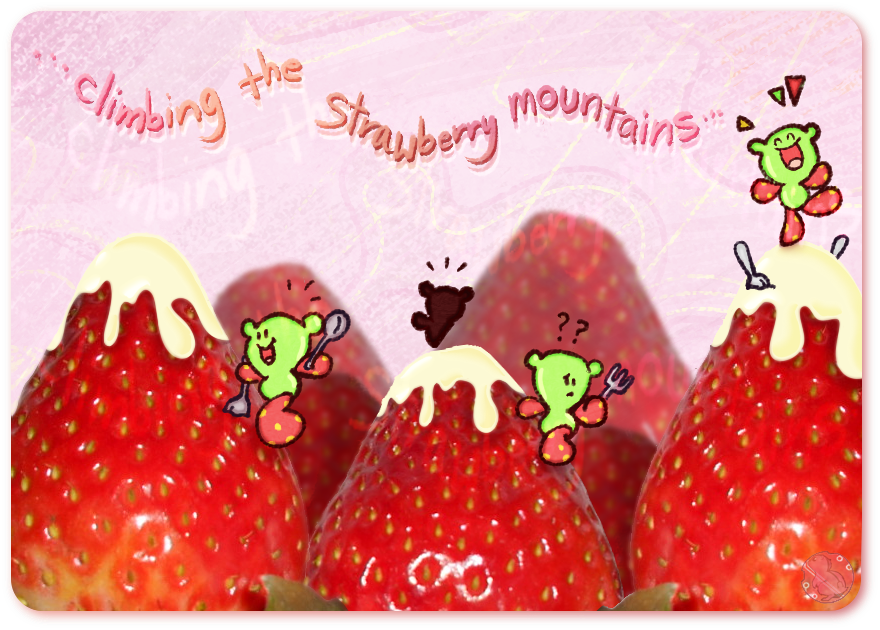 Strawberry Mountains by CRwixey
