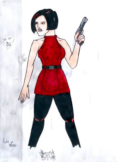 R.E.2 Ada Wong by Cabeca2007