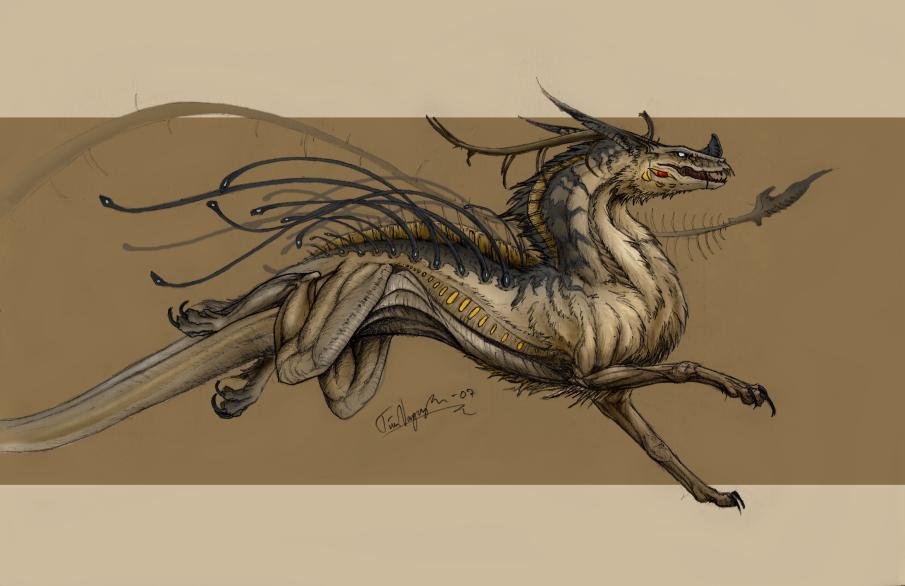 Boring dragon... -.- by CaptainTire
