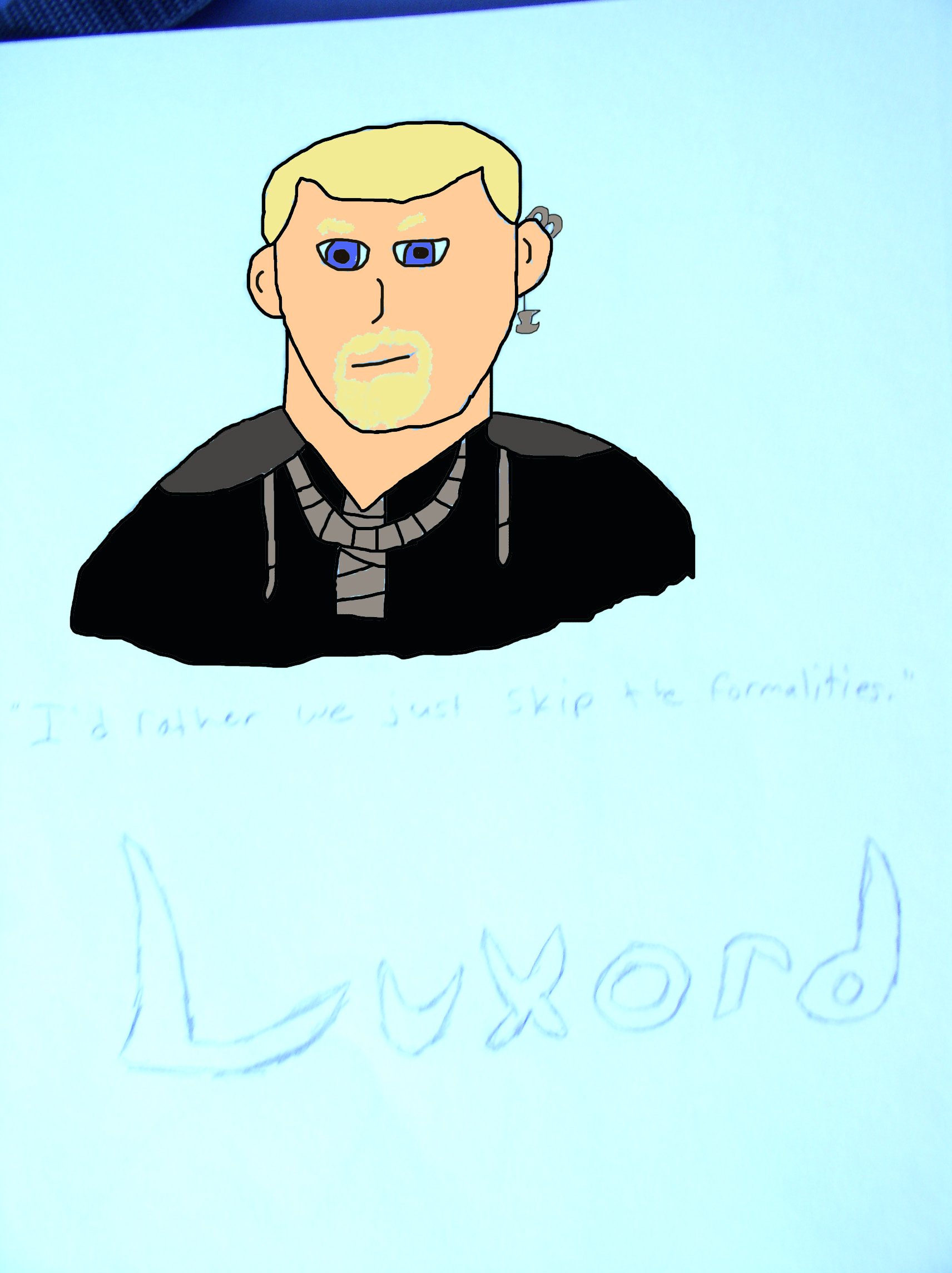 Luxord recolored by CaptiainIndianaSolo