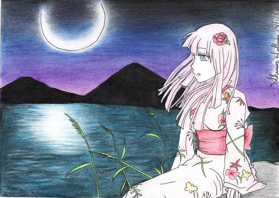 Chisaki Under the Moon by Casylum