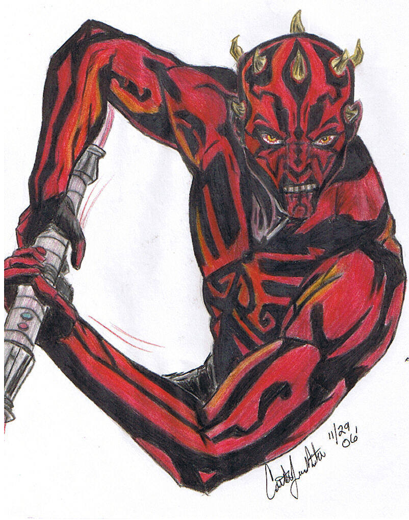 Darth Maul by CatLady